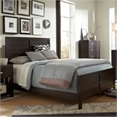 Broyhill Primo Vista Panel Bed in Black Stain