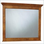 Broyhill Hayden Place Landscape Dresser Mirror in Warm Golden Oak