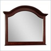 Broyhill Hayden Place Arched Dresser Mirror in Rich Dark Cherry