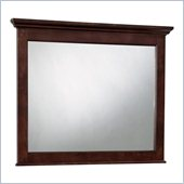Broyhill Hayden Place Landscape Dresser Mirror in Rich Dark Cherry