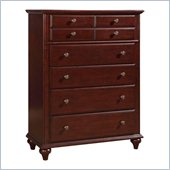 Broyhill Hayden Place 5 Drawer Chest in Rich Dark Cherry