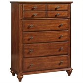 Broyhill Hayden Place 5 Drawer Chest in Light Cherry
