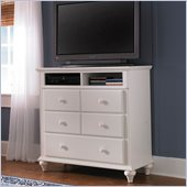 Broyhill Hayden Place 3 Drawer Media Chest in White
