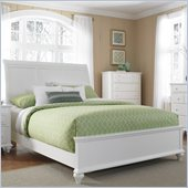 Broyhill Hayden Place Sleigh Bed in White