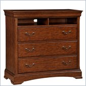 Broyhill Rhone Manor 3 Drawer Media Chest in Toffee