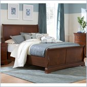 Broyhill Rhone Manor Sleigh Bed in Toffee