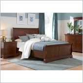 Broyhill Rhone Manor Sleigh Bed 4 Piece Bedroom Set in Toffee
