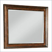 Broyhill Abbott Bay Landscape Dresser Mirror in Warm Russet Brown