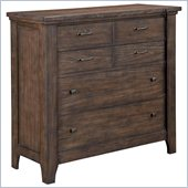 Broyhill Attic Retreat Media Chest in Weathered-Mink