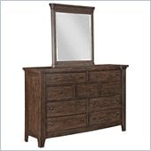 Broyhill Attic Retreat Dresser Mirror in Weathered-Mink