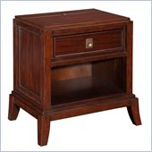 Broyhill Antiquity 1 Drawer Night Stand in Deep Velvet 