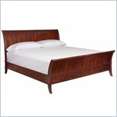Broyhill Antiquity Sleigh Bed in Deep Velvet Tonal Finish