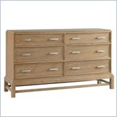 Broyhill Hampton 6 Drawer Dresser in Light Mocha