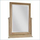 Broyhill Hampton Tilt Dresser Mirror in Light Mocha