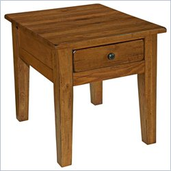 Broyhill Attic Heirlooms End Table in Oak