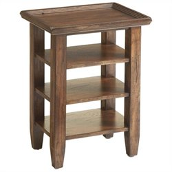 Broyhill Attic Heirlooms Accessory Table in Oak