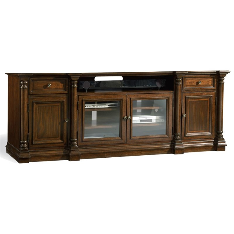 Hooker Furniture Leesburg TV Stand in Mahogany