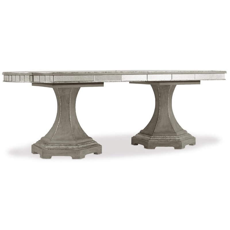 Hooker Furniture Sanctuary Extendable Dining Table in Epoque