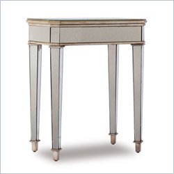 Hooker Furniture Mirrored Accent Table with Gold Painted Trim Finish Best Price