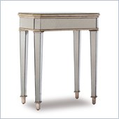 Hooker Furniture Seven Seas Mirrored Accent Table w/ Gold Painted Trim