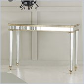 Hooker Furniture Seven Seas Console Table w/ Gold Painted Trim Finish