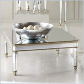 Hooker Furniture Seven Seas Square Cocktail Table w/ Gold Painted Trim