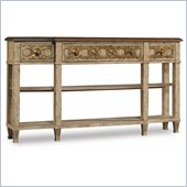 Hooker Furniture Three-Drawer Free Form Sofa Table