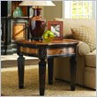 ADD TO YOUR SET: Hooker Furniture North Hampton Wood Top Lamp Table in Black Finish