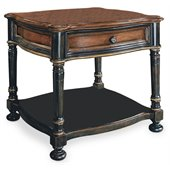 Hooker Furniture Preston Ridge Lamp Table  in Cherry/Mahogany Finish
