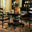 ADD TO YOUR SET: Hooker Furniture Indigo Creek Dining Table in Rub-Through Black