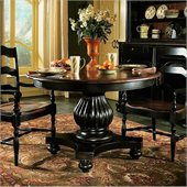 Hooker Furniture Indigo Creek Dining Table in Rub-Through Black