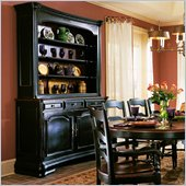 Hooker Furniture Indigo Creek Buffet in Rub-Through Black (Smaller Version)