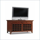 Hooker Furniture Fairview 54 Inch Entertainment Console in Medium Cherry