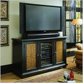 Hooker Furniture Telluride Plasma Console in Painted Black Finish