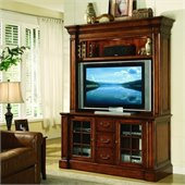 Hooker Furniture Waverly Place Entertainment Console with Hutch