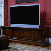 Hooker Furniture Beacon Square 82 Entertainment Console in Cherry Finish