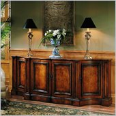 Hooker Furniture Seven Seas Credenza Base in Cherry Finish