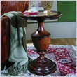 ADD TO YOUR SET: Hooker Furniture Seven Seas Round Wood Top Pedestal Accent Table 