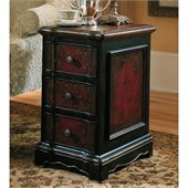 Hooker Furniture Seven Seas Handpainted Three Drawer Accent Table