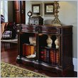 ADD TO YOUR SET: Hooker Furniture Seven Seas Hand Painted Double Bookcase in Brown