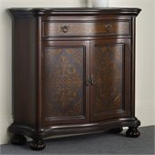 Hooker Furniture Seven Seas Hall Chest with Etched Brass Panels