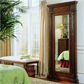 Hooker Furniture Seven Seas Floor Mirror w/ Jewelry Armoir in Cherry