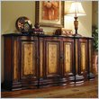 ADD TO YOUR SET: Hooker Furniture Seven Seas Four Door Two-Tone Shaped Credenza