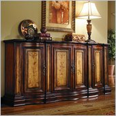 Hooker Furniture Seven Seas Four Door Two-Tone Shaped Credenza