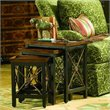 ADD TO YOUR SET: Hooker Furniture Seven Seas Nest of Three Tables w/ Medallion Motif