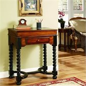 Hooker Furniture Seven Seas Jacobean Twist Leg Flip Top Writing Desk