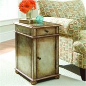 Hooker Furniture Seven Seas Antique Mirror Chest in Metallic Finish