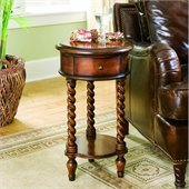 Hooker Furniture Seven Seas 14 Inlay Top Round Accent Table