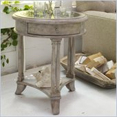Hooker Furniture Melange Bella Round Accent Table with Reversible Top