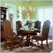 ADD TO YOUR SET: Hooker Furniture Waverly Place Round Pedestal Dining Table in Cherry 